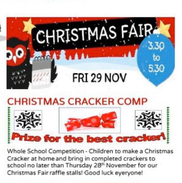 It S Christmas Cracker Competition Time Gisburn Road Barnoldswick Primary School