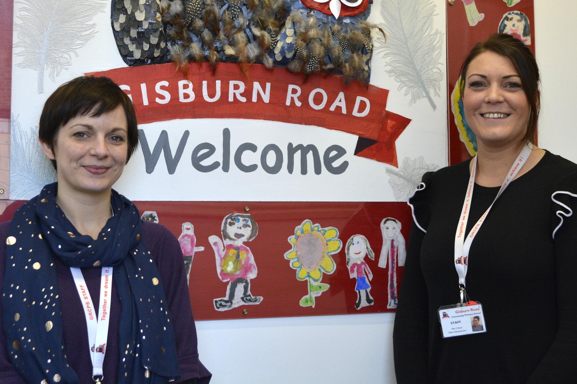 Gisburn Road School Office Team